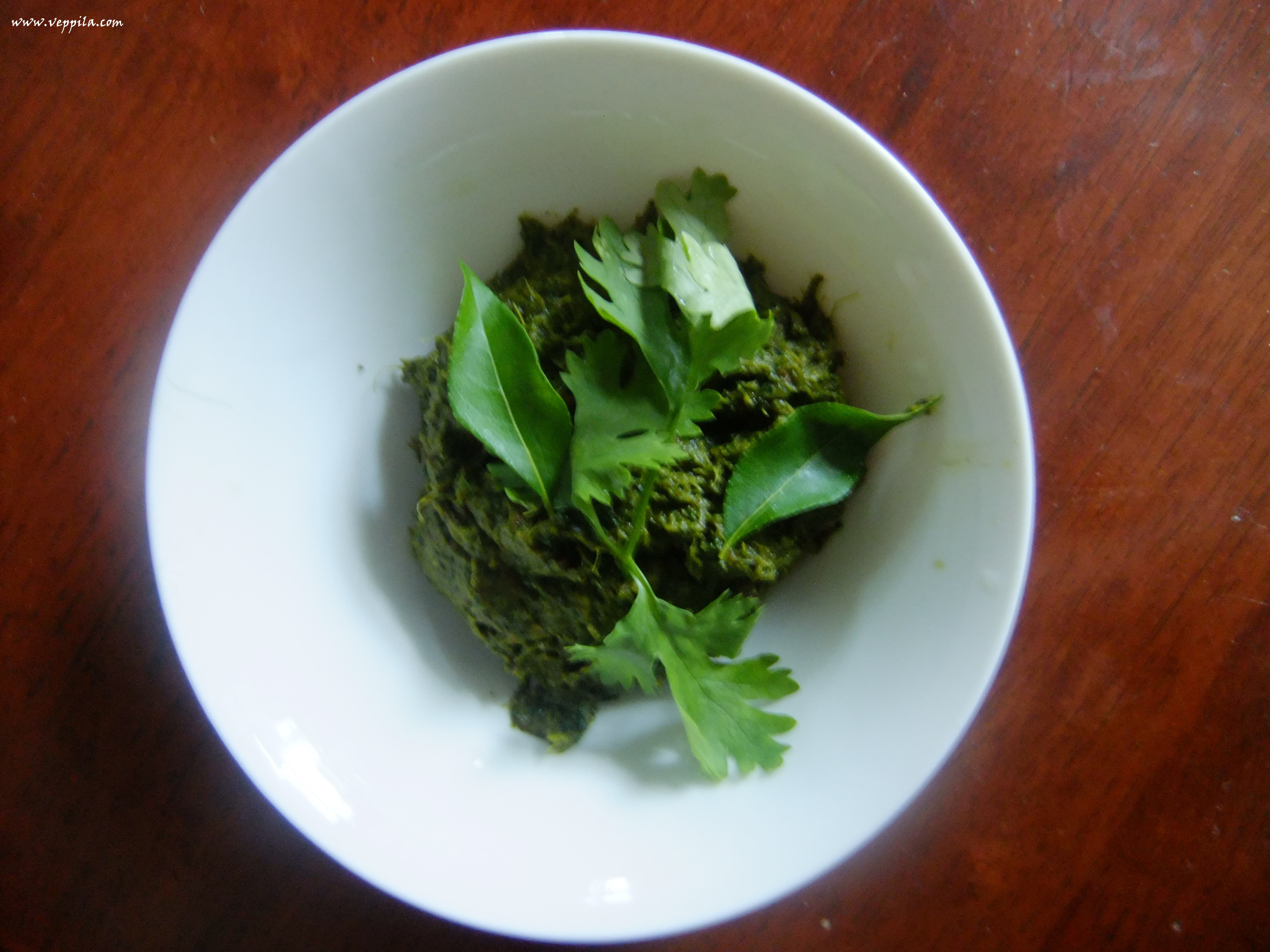 how to prepare kothamalli chutney