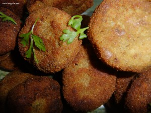 tapioca fish cutlet