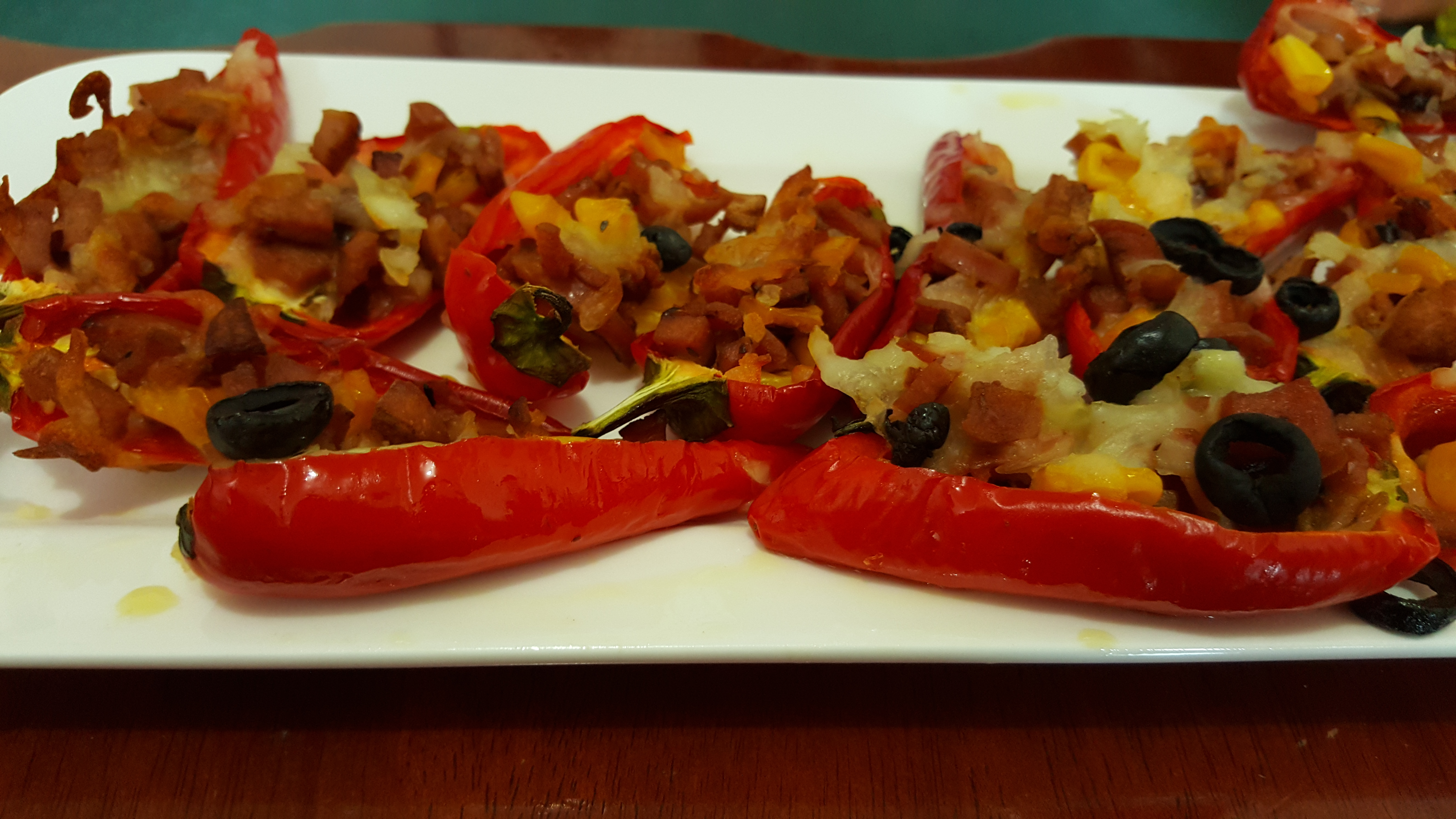 Mexican Spicy Stuffed chilli