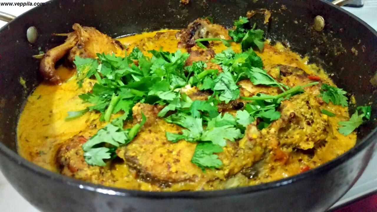 Fish Curry with Mustard Flavour