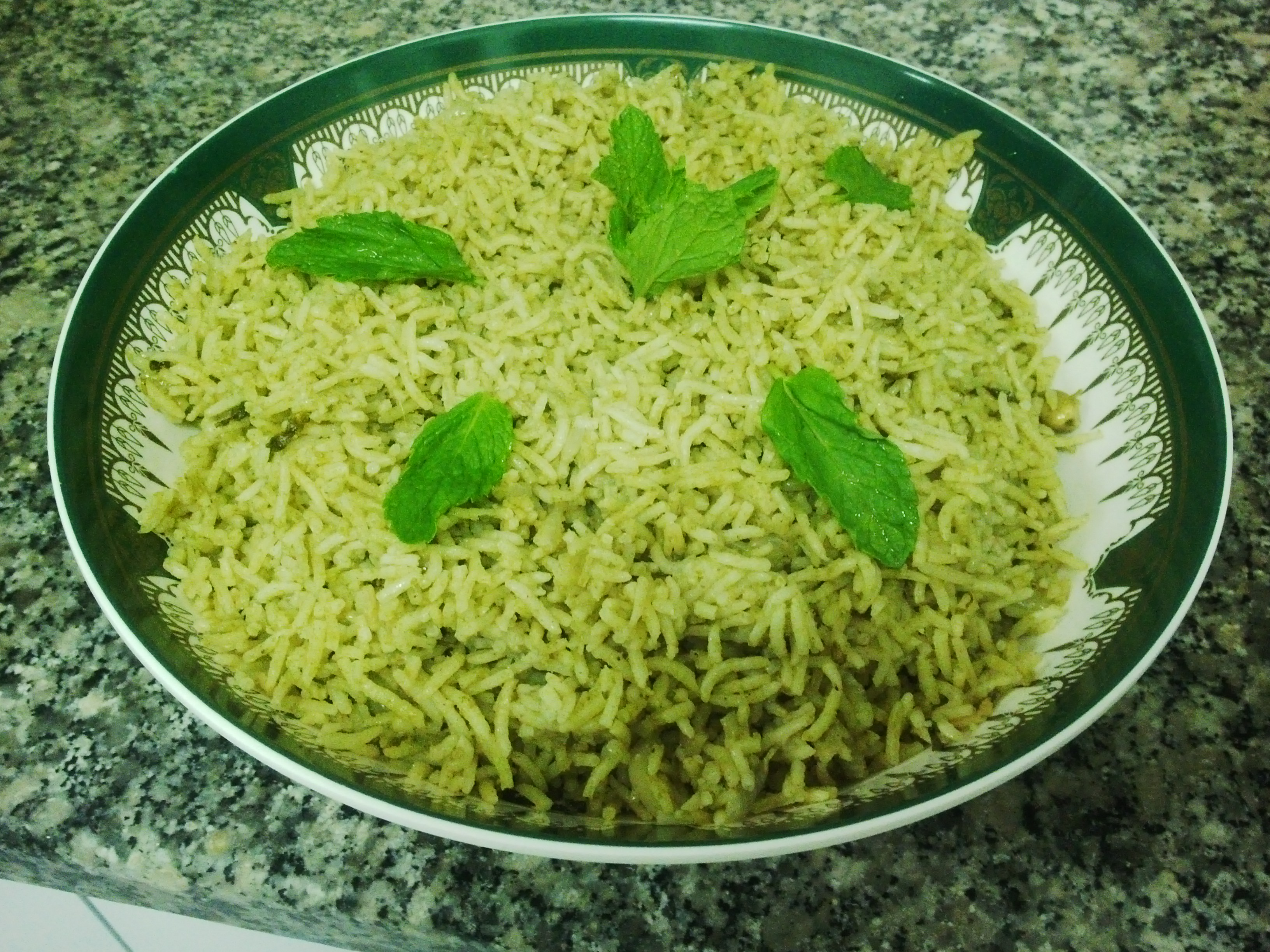 MINT RICE (Pudina Rice)
