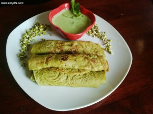 Sprout & Oats Dosa