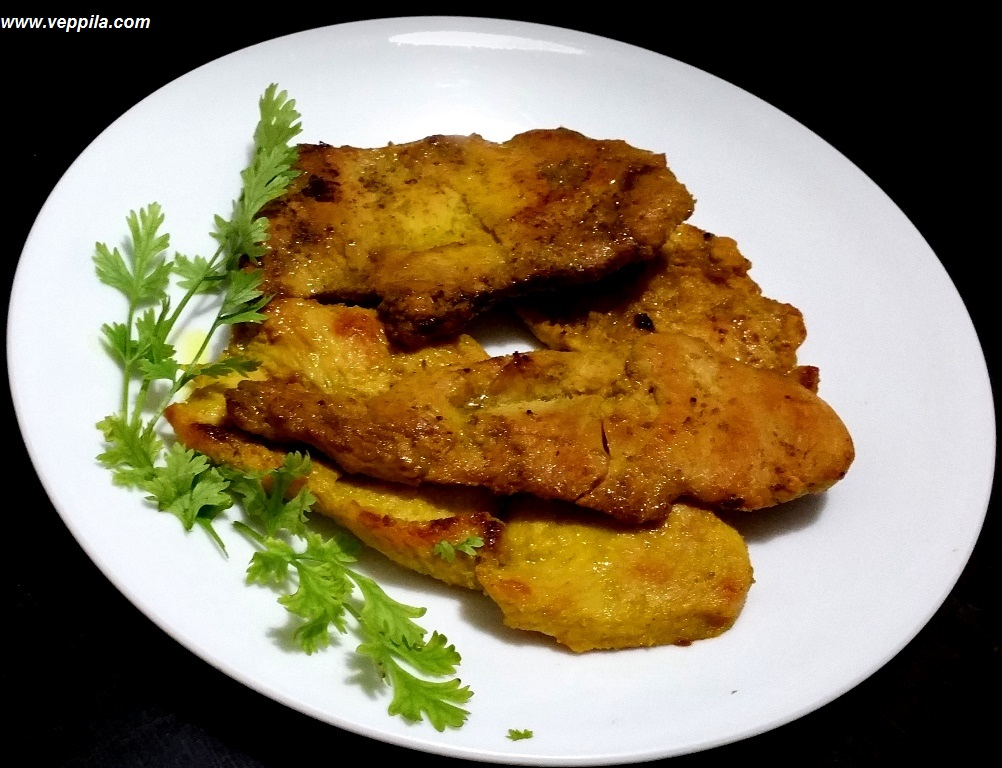 Healthy Chicken Shallow Fry