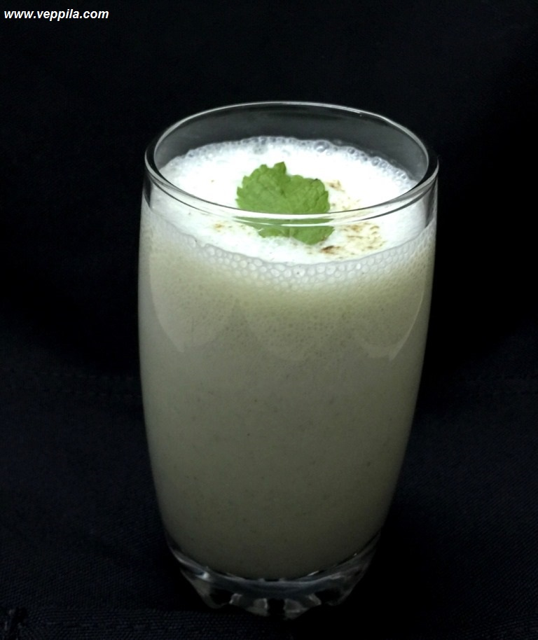 Curd Mint Smoothie
