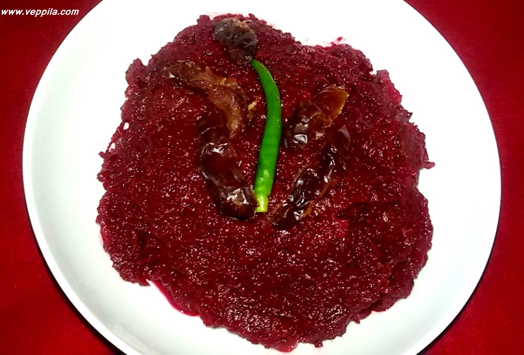 Beetroot Dates Chutney