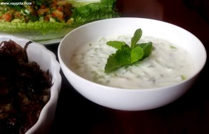 CUCUMBER YOGURT SALAD