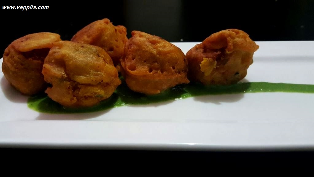 Mixed Vegetable Bonda