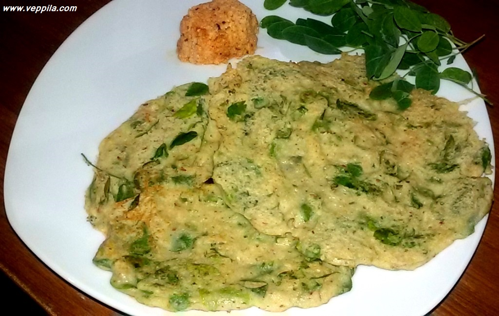 """Drumstick Leaves and oats ada"
