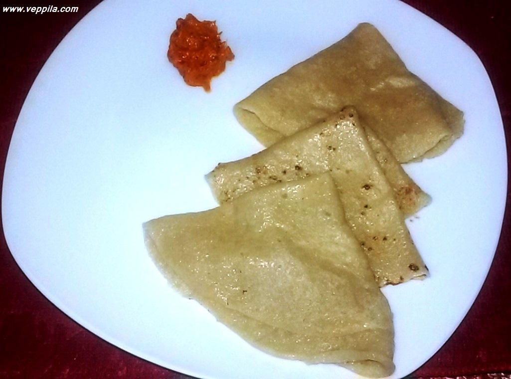 """Wheat Dosa"