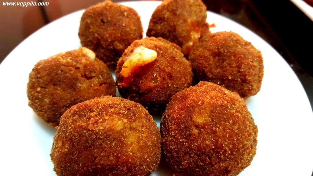 Cheese filled meat balls