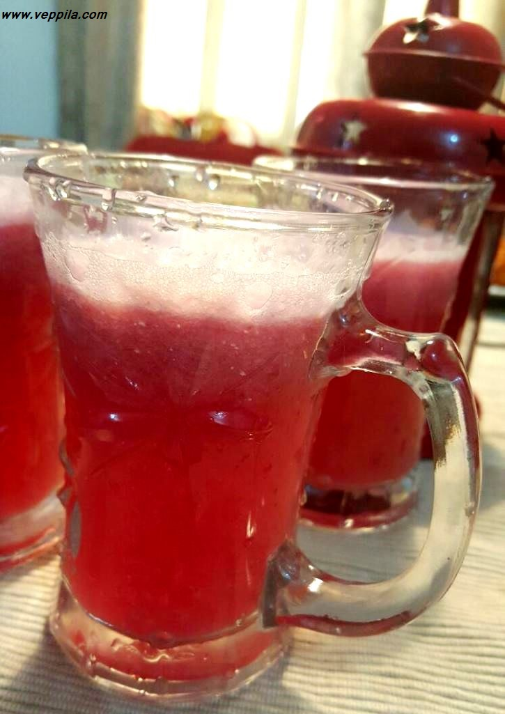Pomegranate Ginger Cool Drink