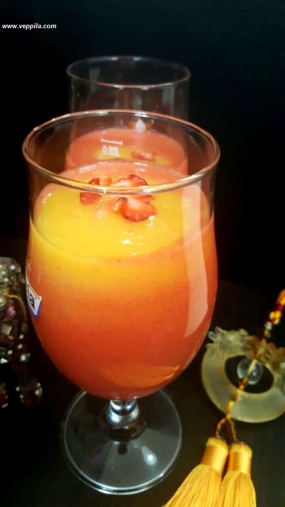 Straberry Mango Mocktail