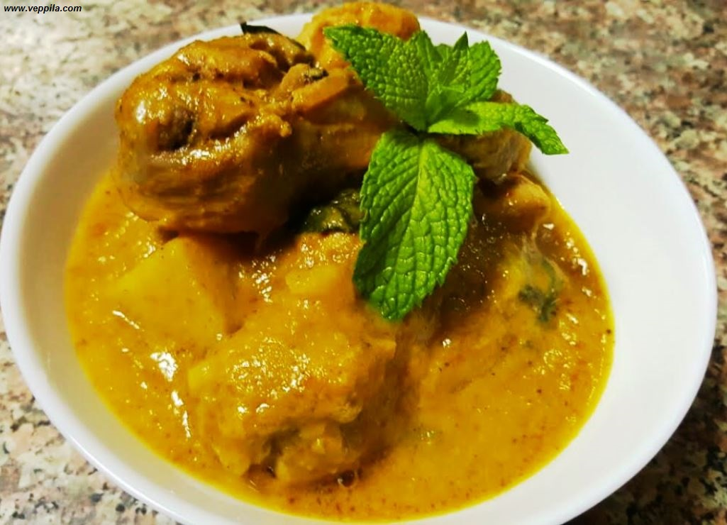 Spicy Sweety Mango Chicken