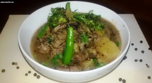 Mutton kaalimirch
