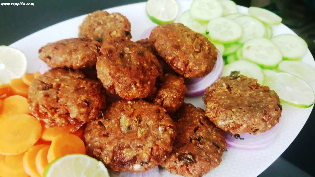 Peanut Poha Patties